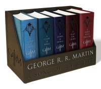 game of thrones book collection